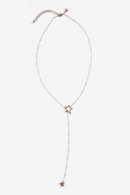 Star Drop Necklace