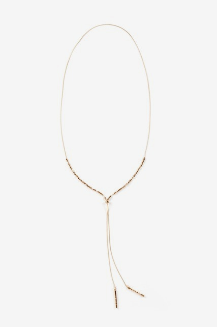 Y-Neck Necklace