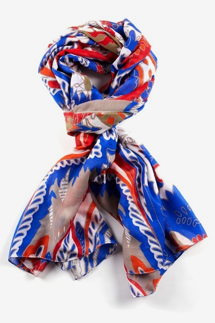 Bright Paisley Scarf