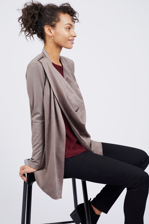 product front nyc drapes french main p in drape blank grey jacket at