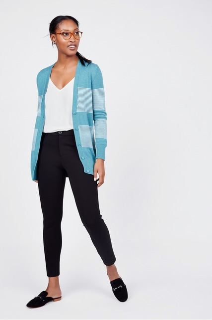 Mini Stripe Cardigan