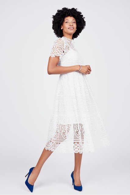 Medallion Lace Dress