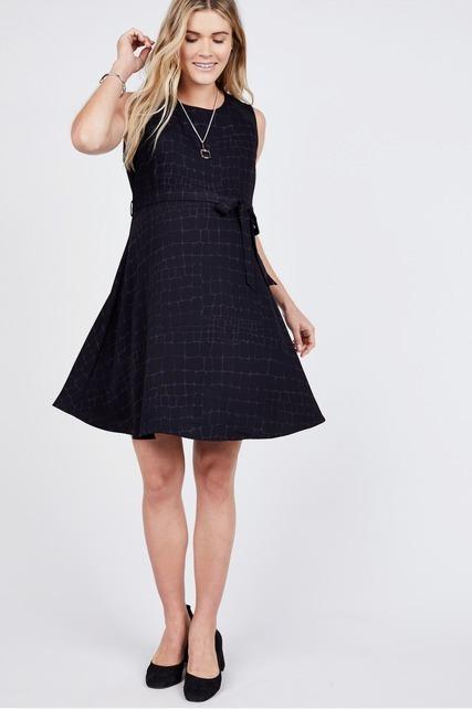 Stitched Shoulder Dress