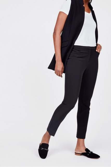 Mid Rise Slim Fit Trouser