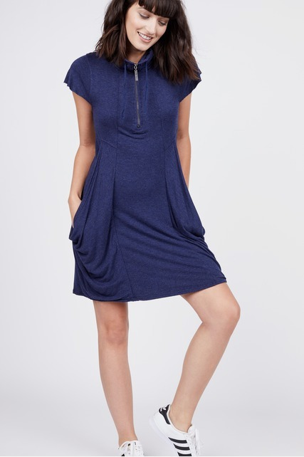 Quarter Zip Dress