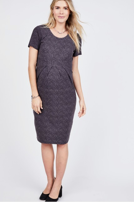 Pleated Empire Dress