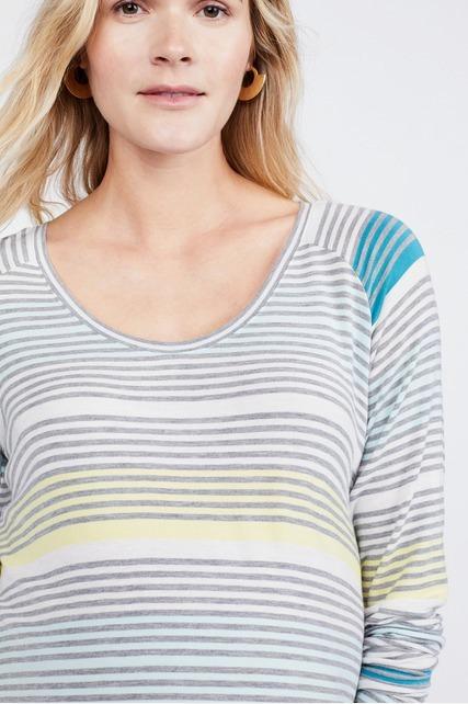 Variegated Striped Shirt