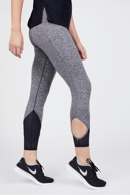 Mesh Cut Out Legging
