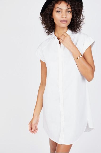 Cap Sleeve Tunic Shirt