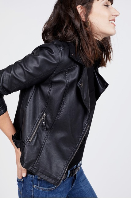 Leatherette Jacket