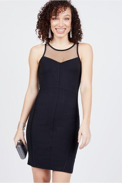 Bodycon Mesh Dress