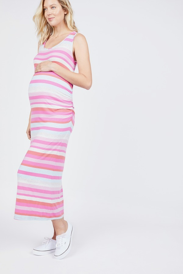Side Ruched Tank Dress