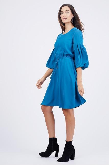 Bubble Sleeve Dress