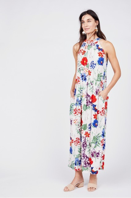Pleated Halter Maxi By Chelsea Theodore Rent Clothes With Le Tote