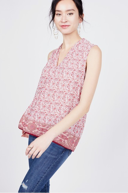 Inverted Pleat Front Tank