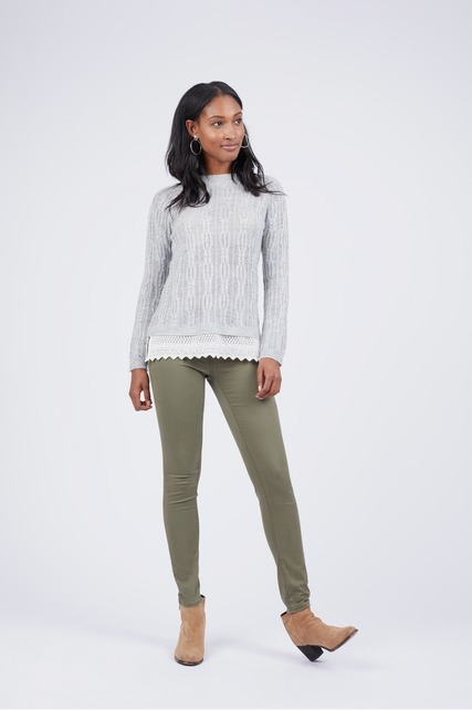 Knit Lace Sweater
