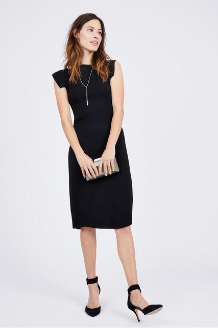 Square Shoulder Dress