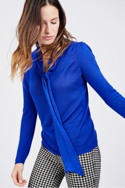 Tie Front Sweater