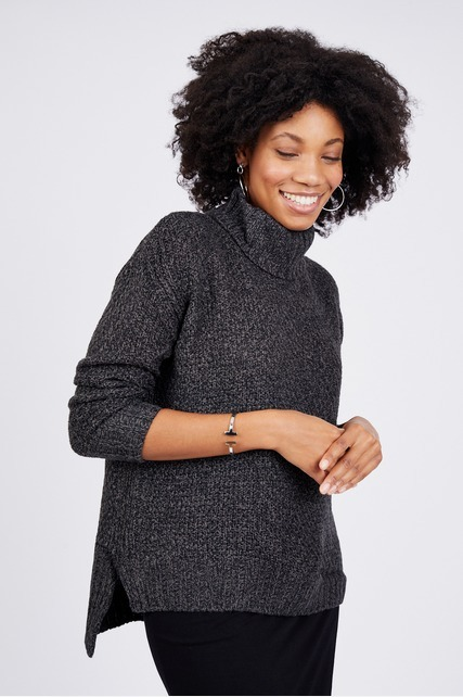 High Low Hem Sweater