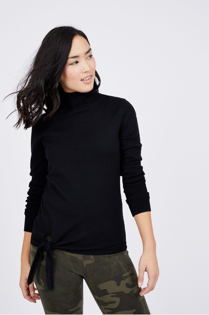 Side Tie Sweater