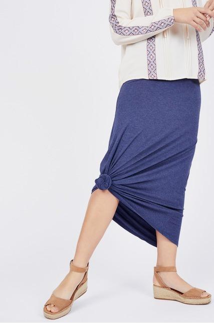 High Waisted Maxi Skirt
