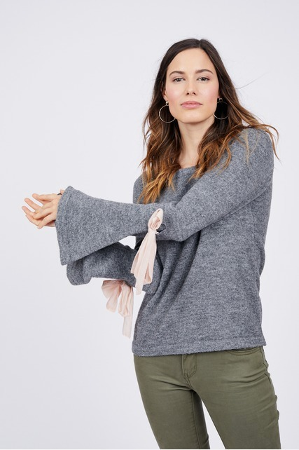 Elbow Bow Sweater
