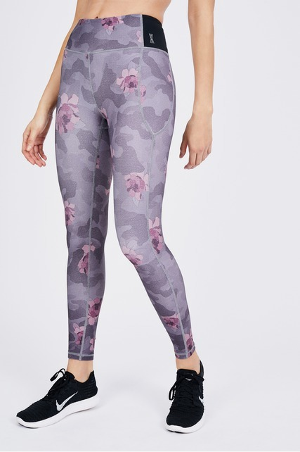 Rose Camo Legging