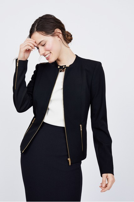 Stretchy Zip Up Jacket