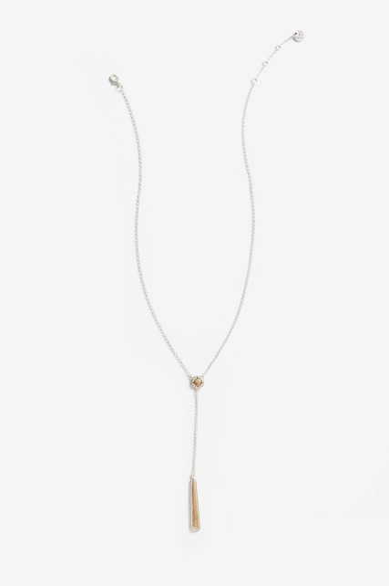 Lariat Stone Necklace