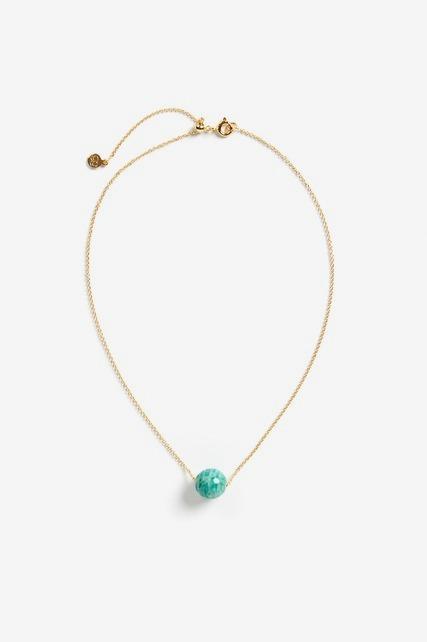 Power Gemstone Bead Necklace