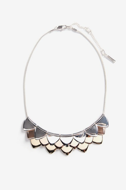 Triangle Fringe Necklace