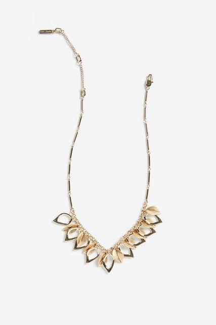 Leaf Statement Collar Necklace