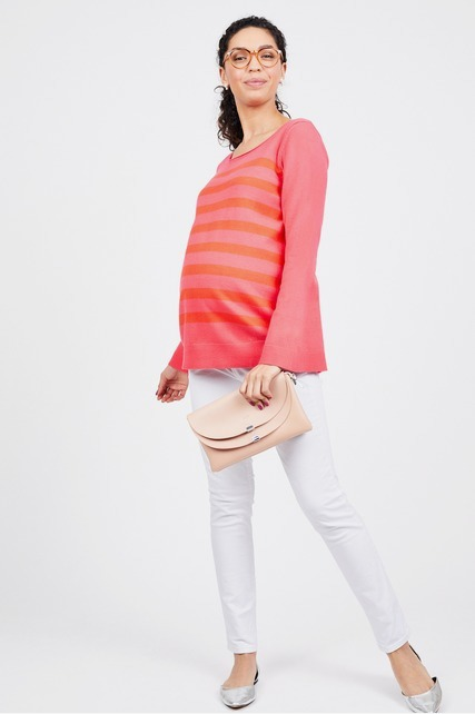 1fbfa0dd61d00 Scoop Neck Sweater by Ava Maternity - Rent Clothes with Le Tote
