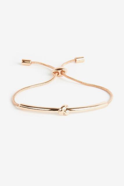 Knotted Slider Bracelet