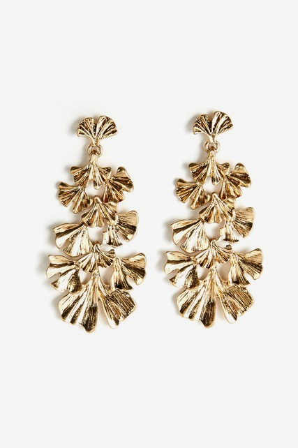 Free Leaf Statement Earring