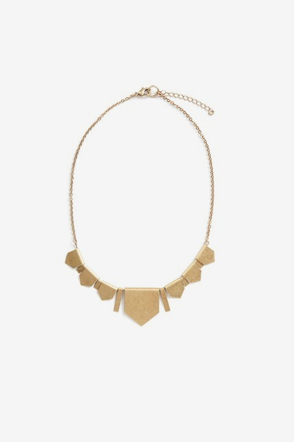 Geometric Statment Necklace