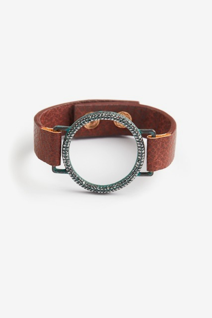 Tarnished Pave Wrap