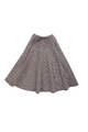 Jacquard Dot Circle Skirt