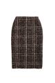 Plaid Sparkle Skirt
