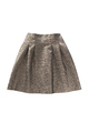 Metallic A-Line Skirt